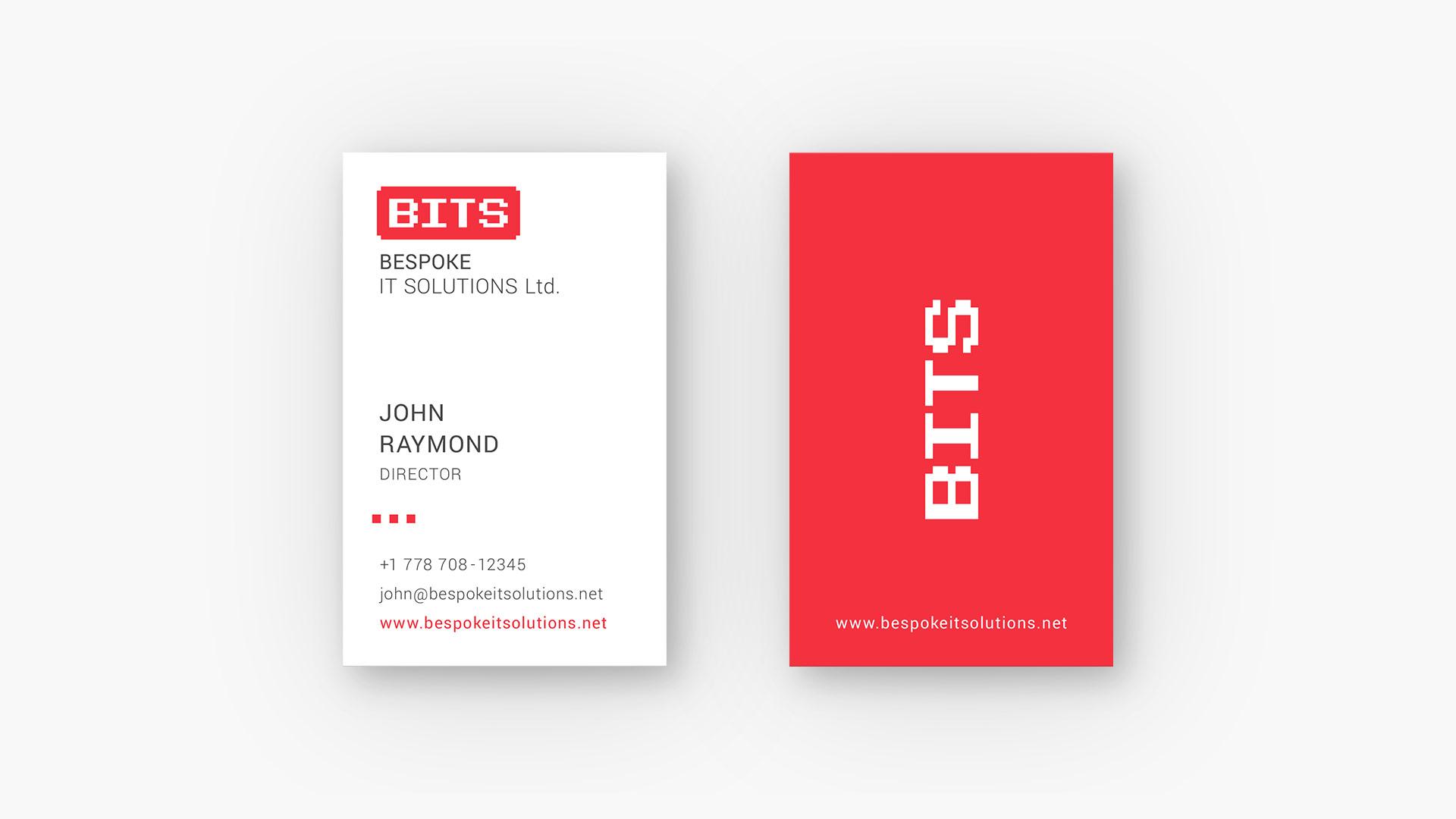 Bespoke IT Solutions Ltd. | Business Card Design | Branding By Artjom Meister | Art-mas.com