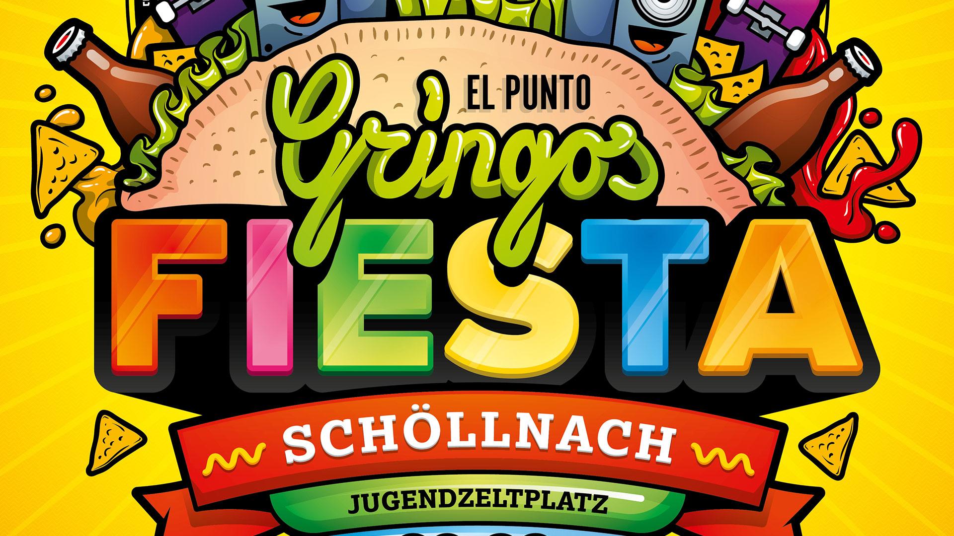 Gringos Fiesta 2014   Poster Detail   Illustration By Artjom Meister   Art-mas.com