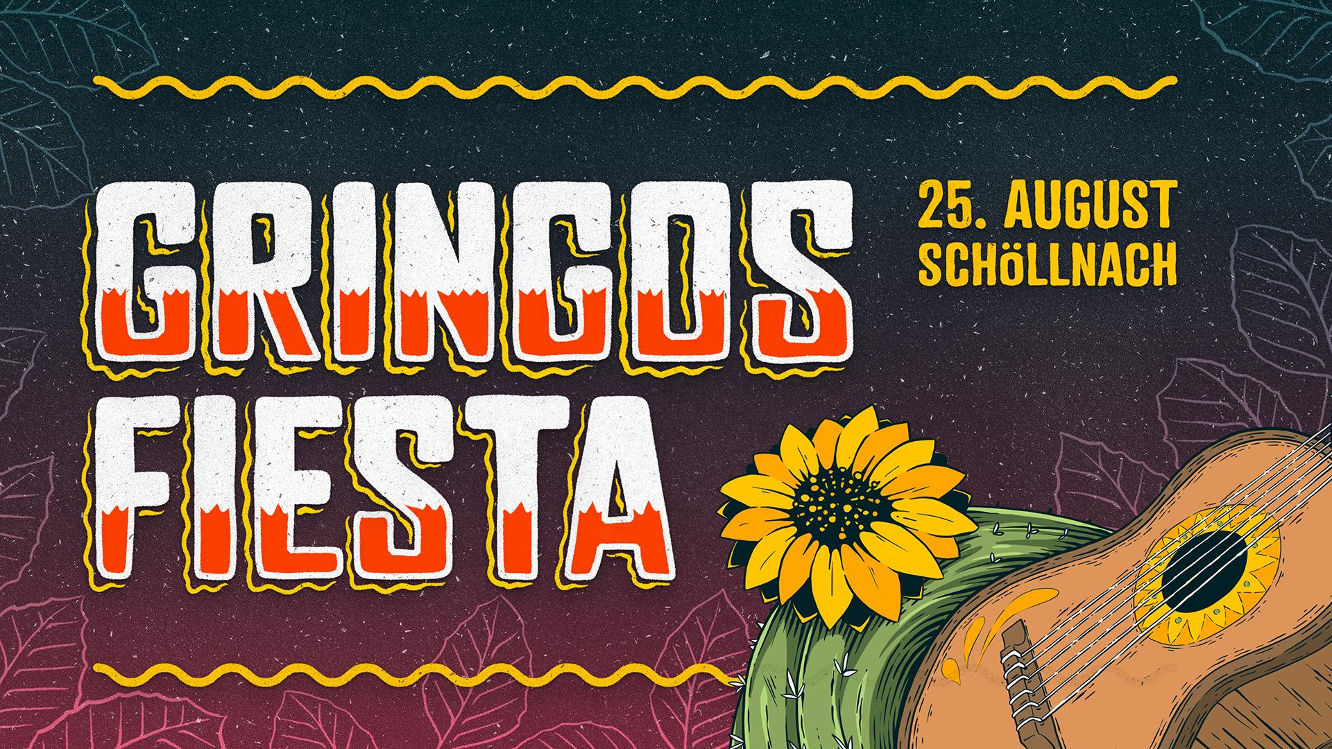 Gringos Fiesta 2018 | Poster Detail | Illustration By Artjom Meister | Art-mas.com
