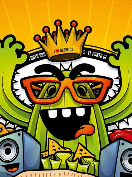 Gringos Fiesta 2014   Cover   Illustration By Artjom Meister   Art-mas.com