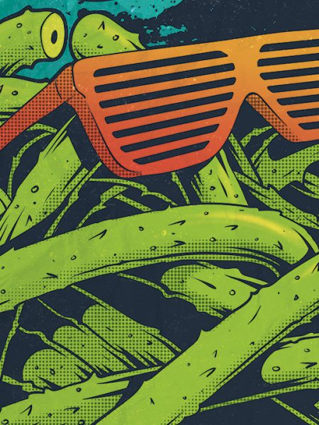 Gringos Fiesta 2015   Cover   Illustration By Artjom Meister   Art-mas.com