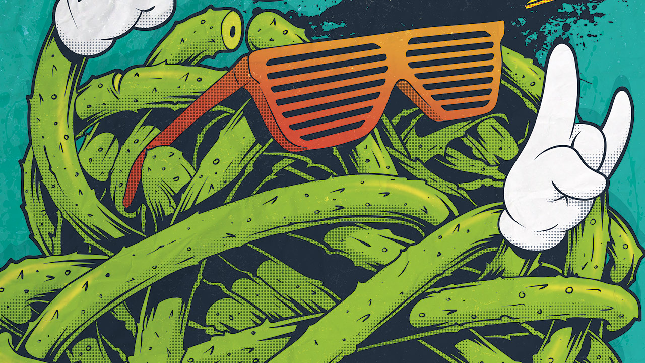 Gringos Fiesta 2015 | Cover | Illustration By Artjom Meister | Art-mas.com