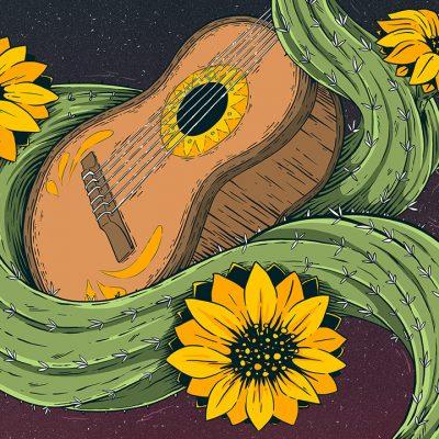 Gringos Fiesta 2018 | Cover | Illustration By Artjom Meister | Art-mas.com