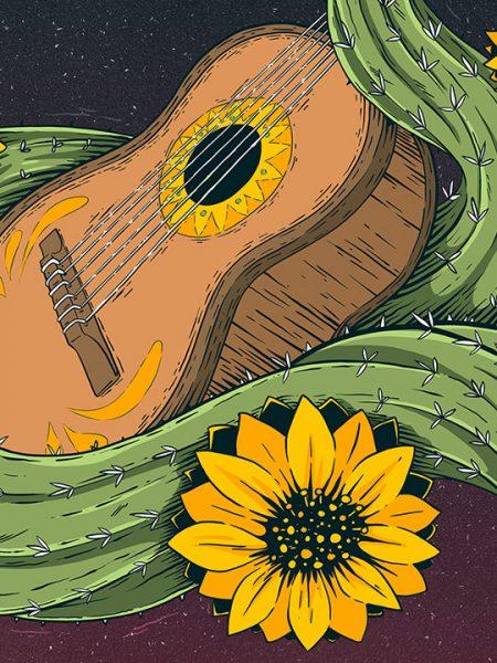 Gringos Fiesta 2018   Cover   Illustration By Artjom Meister   Art-mas.com
